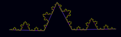 triangle-fractal